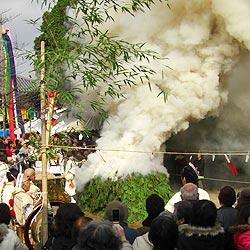 帝釈寺の福護摩祭り