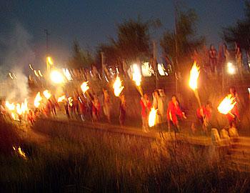 まんどろ火祭り