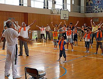 ラジオ体操のプロに学ぶ!