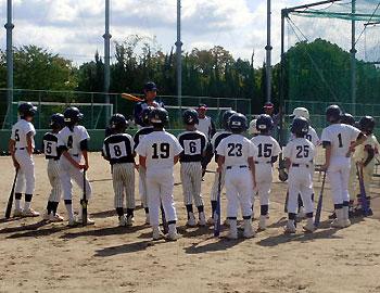 オリックスのコーチが指導!少年野球教室