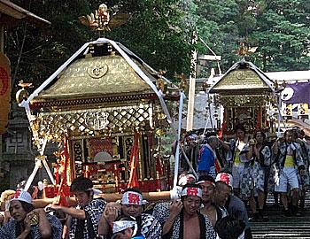 小野原地域の秋祭り