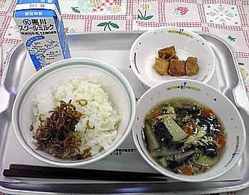 給食の時間〜学校給食試食会〜