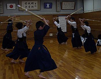 少年剣道、初稽古!