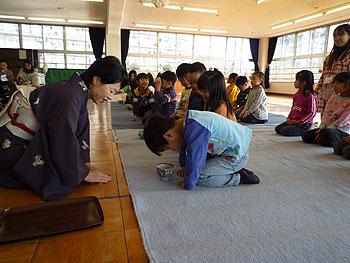 市立ひがし幼稚園で初釜!