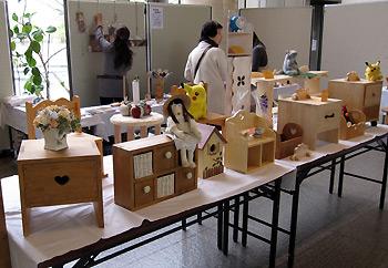 第二回メイプル木工クラブ展示会