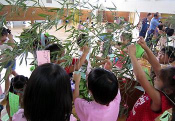 豊川北小学校で七夕のつどい★