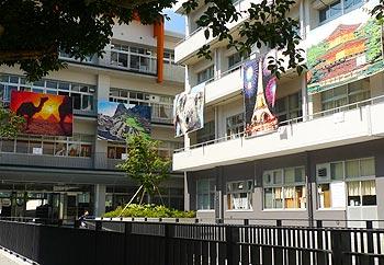 中学校・文化祭の風景