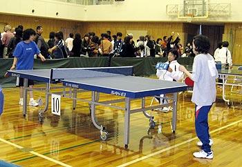 第8回稲スポーツセンター杯知的障がい者卓球大会
