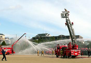 箕面市消防出初式