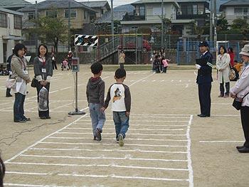 春の親と子の交通安全教室