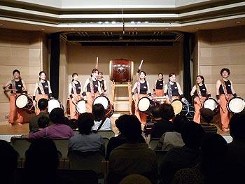 みのお太鼓ミニコンサート&太鼓体験