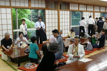 東日本大震災被災者招待「温泉と食事によるリフレッシュの集い」