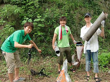 川清掃イベント「☆に願いを〜天の川をとりもどせ〜」