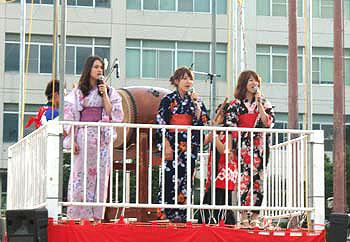 大阪大学夏まつり2011晴天のなか開催!