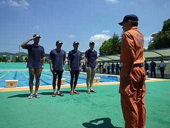 箕面の救助隊強化訓練が行われました!