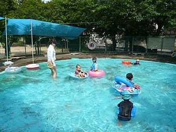 児童水遊場オープン!
