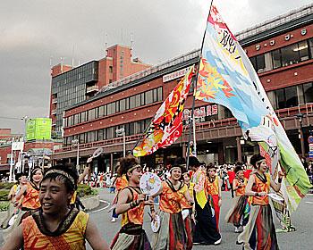 箕面まつり「パレード」