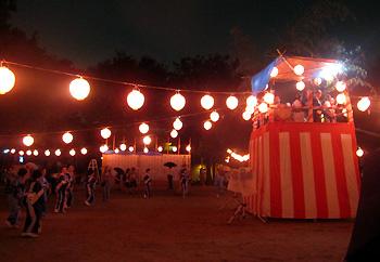 牧落まつり盆踊り大会開催!