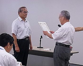 箕面シンボルロードまちづくり協議会が「大阪府道路協会功労者賞」受賞