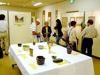 高齢者作品展の授賞式