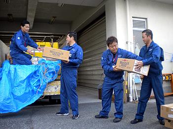 和歌山県新宮市へ支援物資出発!