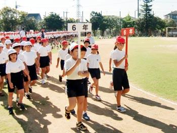 東小学校、運動会がんばるぞ!