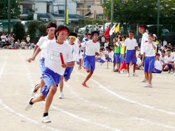 学校と地域の祭り