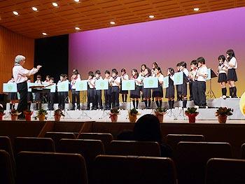 箕面市少年少女リコーダー合奏団20周年記念コンサート