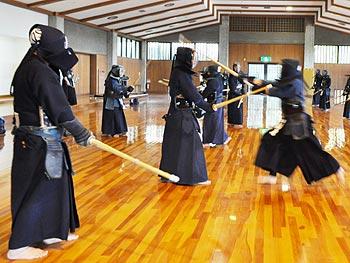 剣道の初稽古
