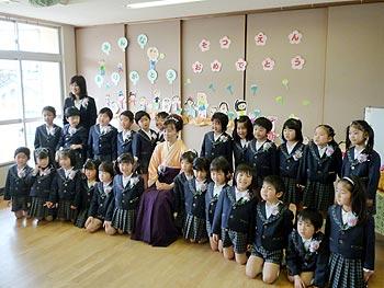幼稚園ご卒園、おめでとう!