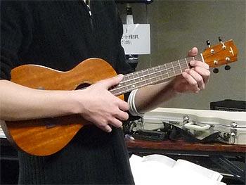 ギター・ウクレレのアンサンブル体験