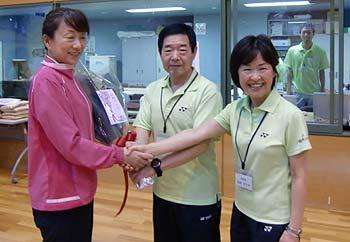 ロンドン五輪審判に箕面出身・百野郁子さんが選ばれました!