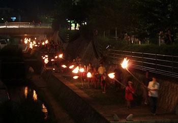 第九回まんどろ火祭り・開催!