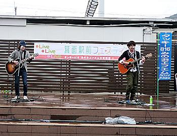 12/2(日)も「箕面駅前フェスティバルLive!Live!Live」開催