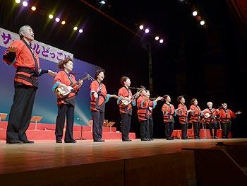 民謡サークルどっこい15周年コンサート