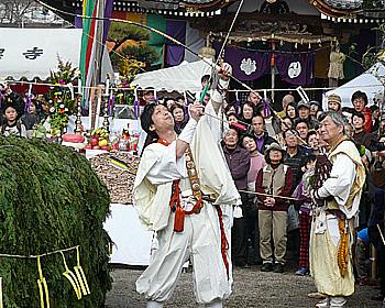 福を授かる福護摩祭り