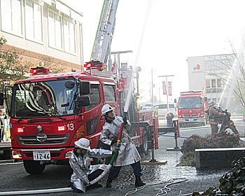 春の全国火災予防運動実施中!