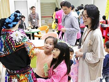 多文化交流センター、オープン!記念の「ミニ多民族フェスティバル2013」