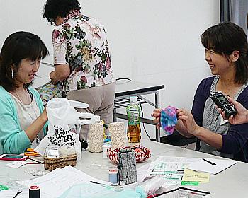 縫い物ボランティア講習会