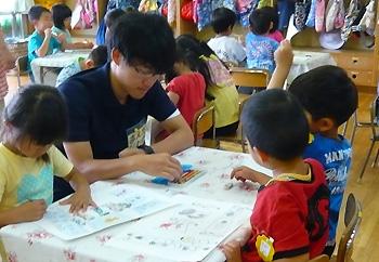 かやの幼稚園に実習生がやって来た!