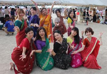 突然の雨ニモマケズ…第34回大阪大学夏まつり