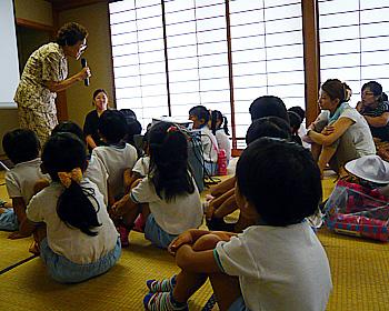 とよかわみなみ幼稚園の平和登園日