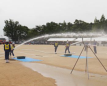 箕面で開催!第69回豊能地区支部消防総合訓練大会