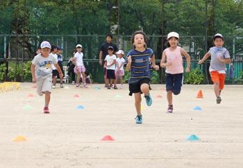 夏休み!ジュニア走り方教室開催