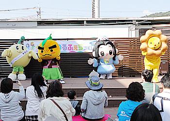 キャラクター大集合!箕面ゆるふぇす2013