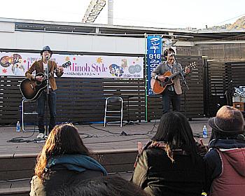 箕面市特命大使のライブと箕面美食の祭典開催!