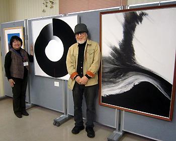 箕面在住アーティスト展「熊野禮助の表現」