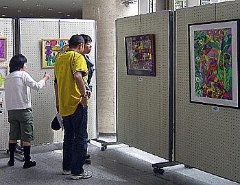 第3回ミントアンサンブル展(絵画展)開催中