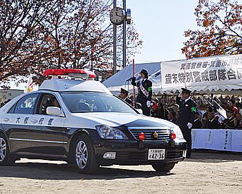 一日警察署長・一日消防長は、元宝塚歌劇団