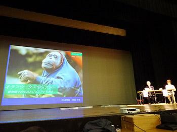 元上野動物園飼育員、黒鳥英俊さんのトークショー